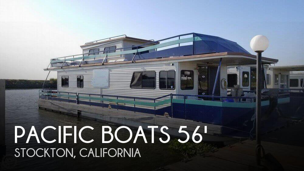Used Houseboats For Sale in California by owner | 1995 Pacific Boats 56