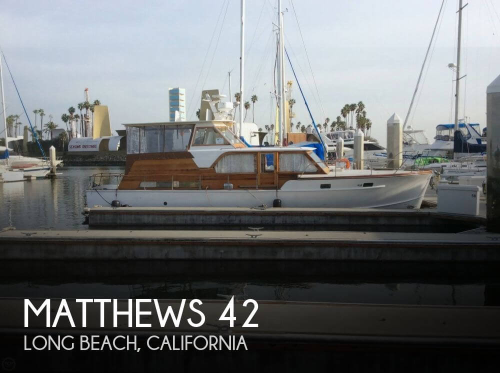 Used Matthews Boats For Sale by owner | 1960 Matthews 42