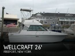 1982 Wellcraft Sedan Cruiser 260