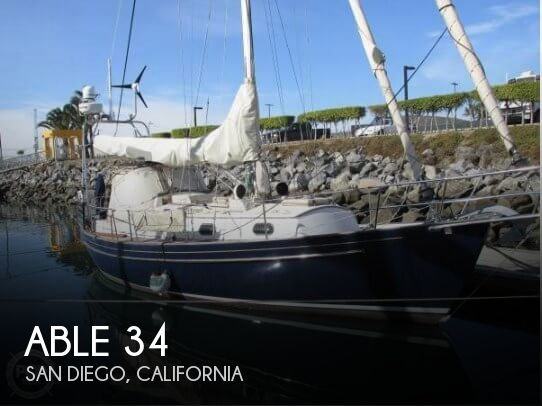 Used Boats For Sale in San Diego, California by owner | 1988 Able 34