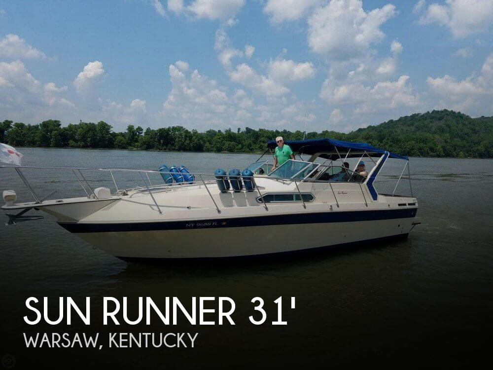 Used Sun runner Boats For Sale by owner | 1986 Sun Runner 31