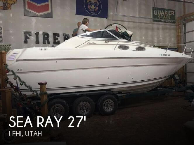 Used Boats For Sale in Ogden, Utah by owner | 1999 Sea Ray 27