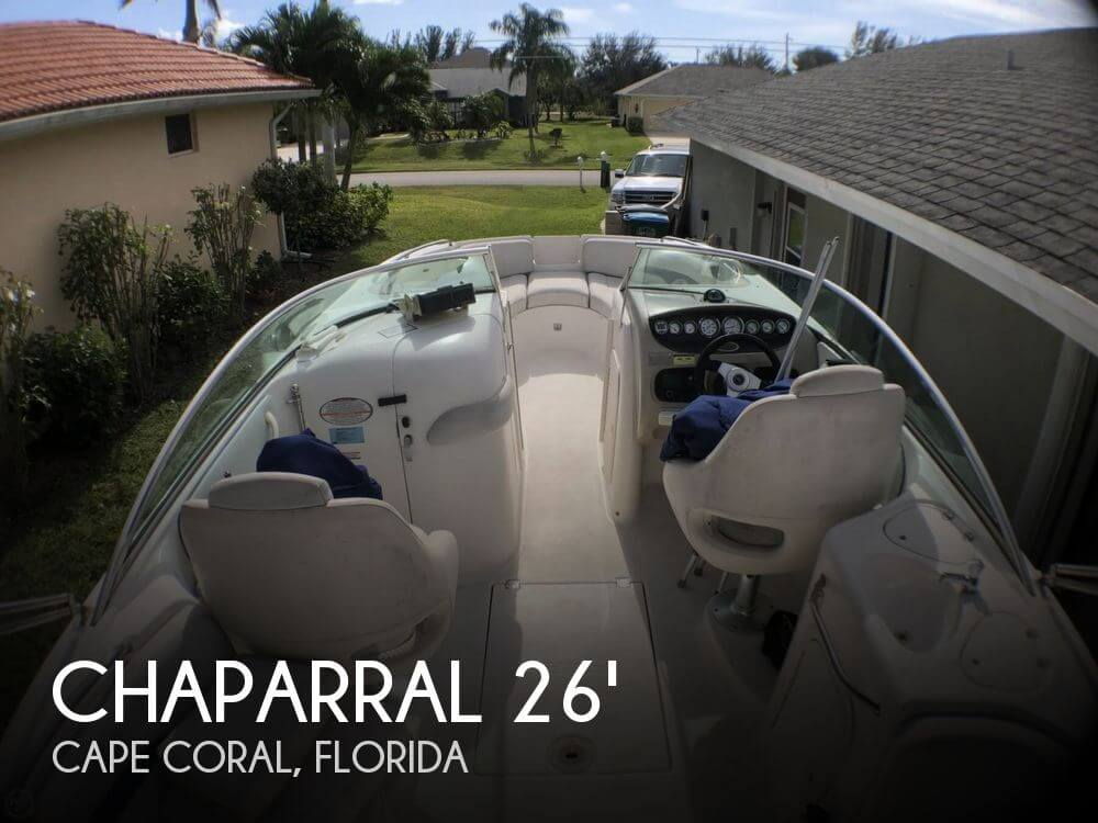 Used Chaparral Deck Boats For Sale by owner | 2002 Chaparral Sonesta 263