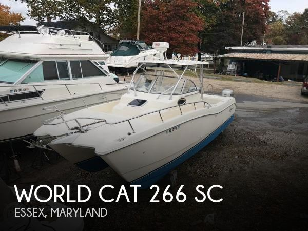 Used World Cat Boats For Sale by owner | 1999 World Cat 26