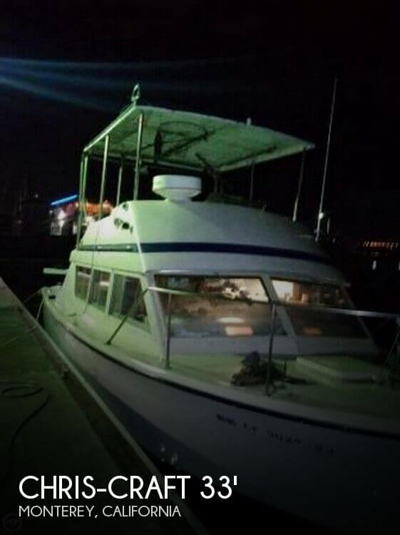 Used Chris-Craft Boats For Sale in California by owner | 1976 Chris-Craft 33