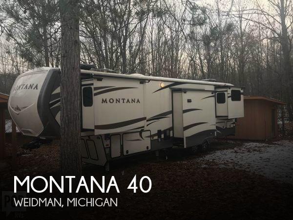 2017 Keystone Montana 40