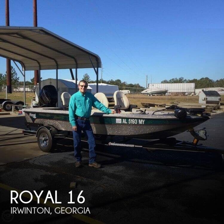 Used Boats For Sale in Macon, Georgia by owner | 2016 Royal 16