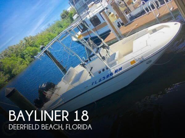 Used Bayliner 18 Boats For Sale by owner | 2017 Bayliner 18