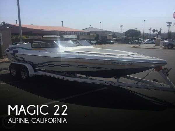 Used Magic Boats For Sale by owner | 1996 Magic 22