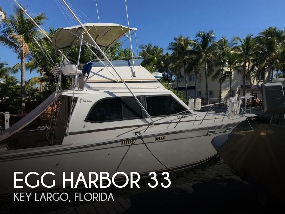 Used Egg Harbor Boats For Sale by owner | 1986 Egg Harbor 33