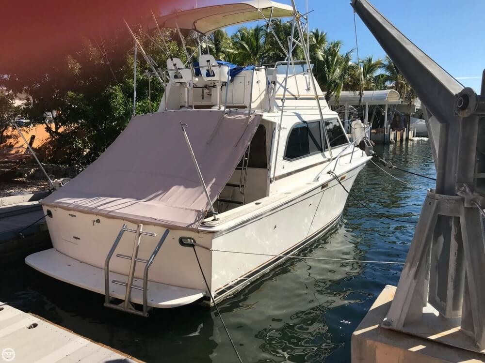 1986 Egg Harbor boat for sale, model of the boat is 33 & Image # 9 of 40