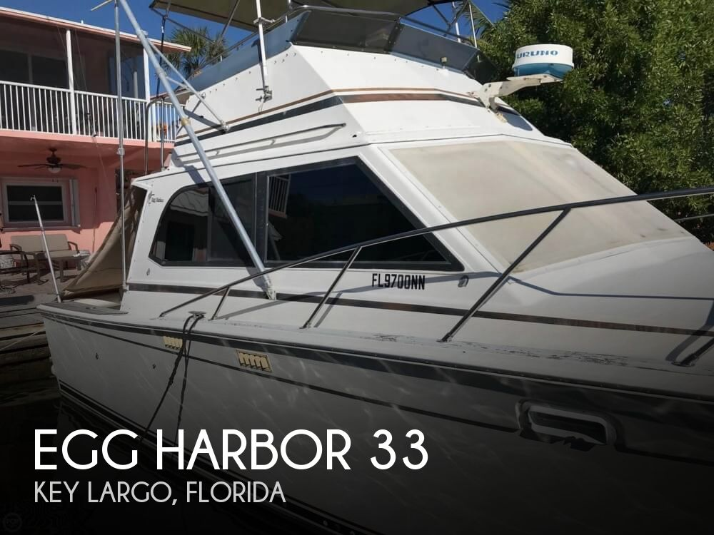 1986 Egg Harbor boat for sale, model of the boat is 33 & Image # 1 of 40