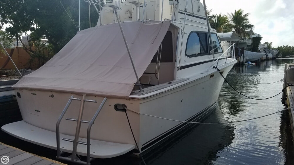 1986 Egg Harbor boat for sale, model of the boat is 33 & Image # 40 of 40