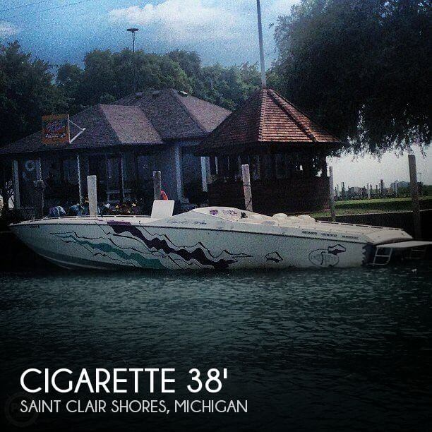Used Cigarette Boats For Sale by owner | 1993 Cigarette 38
