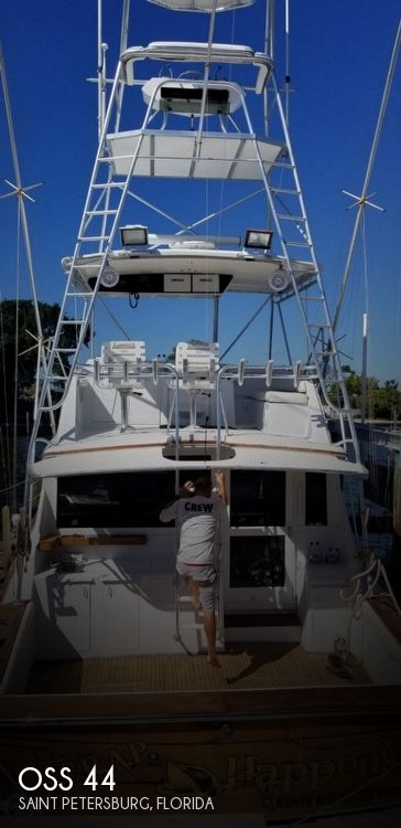 Used Boats For Sale by owner   1987 Ocean Super Sport 44