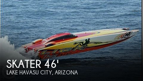 Used Boats For Sale in Arizona by owner | 2002 Skater 46