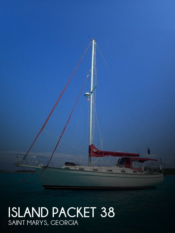 1988 Island Packet boat for sale, model of the boat is 38 & Image # 1 of 40