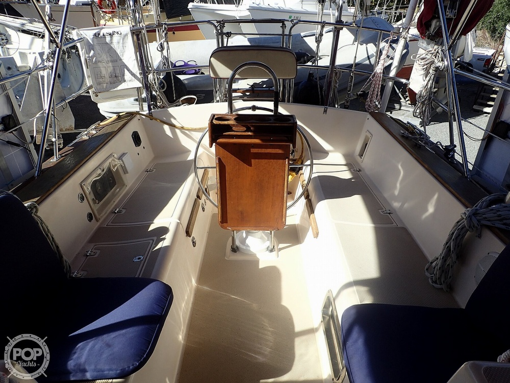 1988 Island Packet boat for sale, model of the boat is 38 & Image # 6 of 40