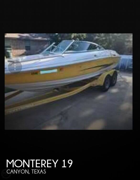 Used Boats For Sale in Amarillo, Texas by owner | 2003 Monterey 19