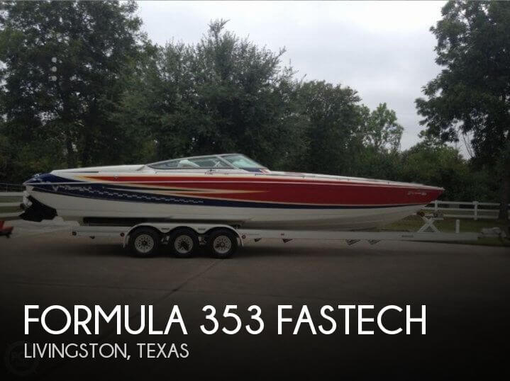 Used Boats For Sale in Houston, Texas by owner | 2007 Formula 35