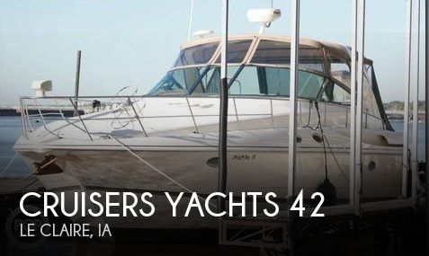 Used Boats For Sale in Davenport, Iowa by owner | 2002 Cruisers Yachts 42