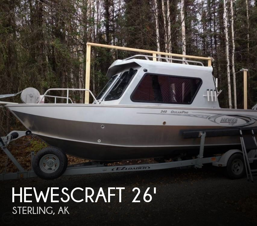 Used Boats For Sale in Anchorage, Alaska by owner | 2017 Hewescraft 240 Ocean Pro
