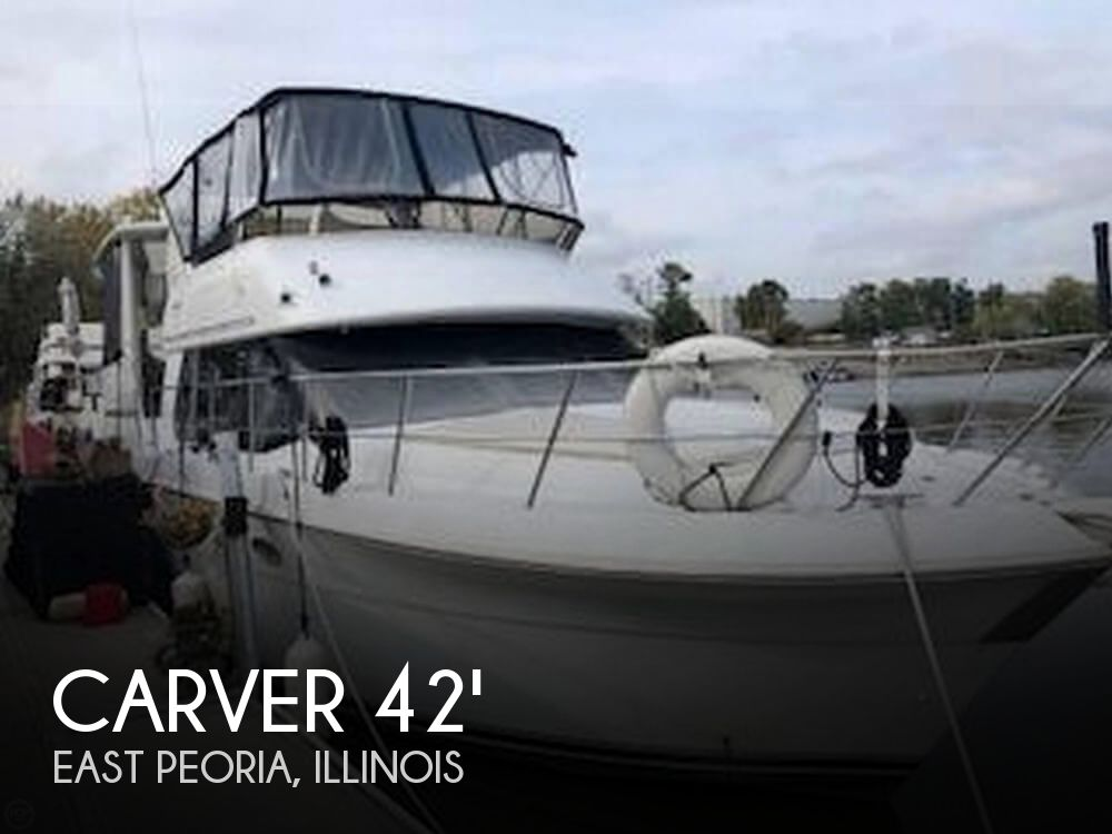 Used Boats For Sale in Springfield, Illinois by owner | 2001 Carver 42