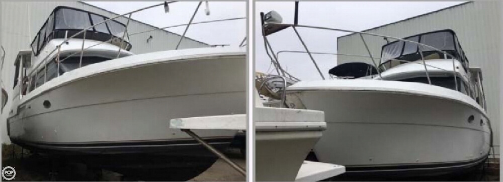 2001 Carver boat for sale, model of the boat is 406 Aft Cabin & Image # 5 of 41