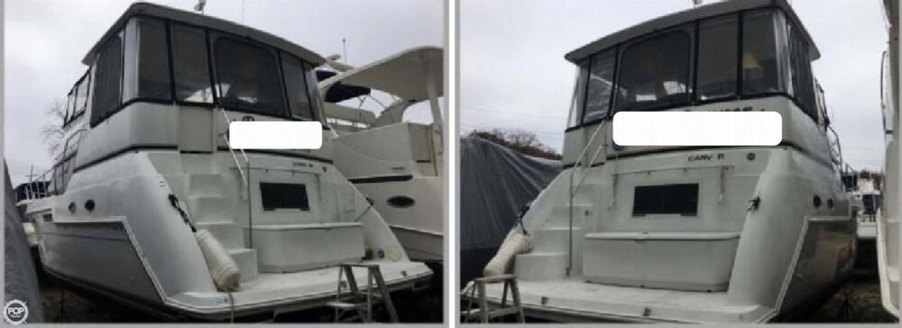 2001 Carver boat for sale, model of the boat is 406 Aft Cabin & Image # 4 of 41