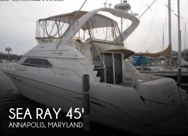 Used Sea Ray Boats For Sale in Maryland by owner | 1999 Sea Ray 45