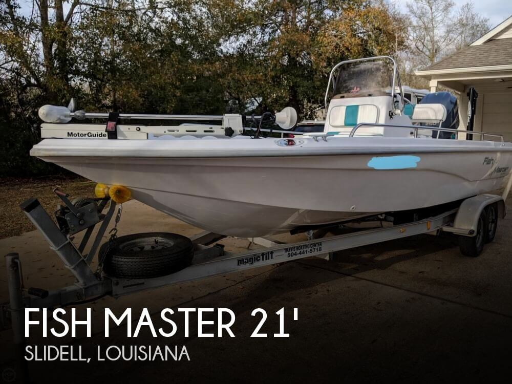 2001 FISH MASTER TRAVIS ED 2100 for sale