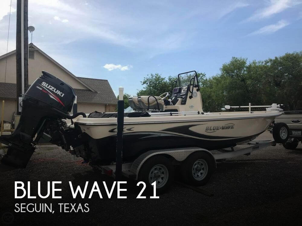 Used Boats For Sale in San Antonio, Texas by owner | 2016 Blue Wave 21