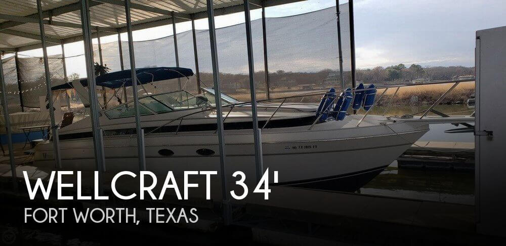 Used Wellcraft Boats For Sale in Texas by owner | 1990 Wellcraft 34