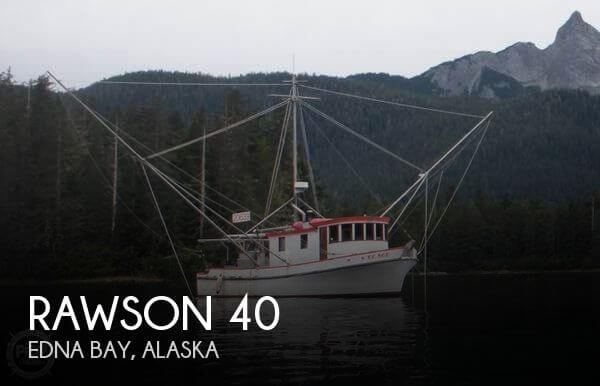 Used Boats For Sale in Alaska by owner | 1972 Rawson 40