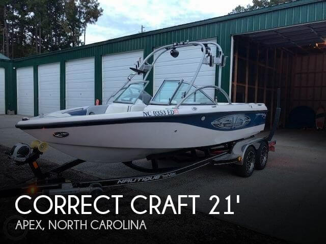 Used Boats For Sale in Raleigh, North Carolina by owner | 2004 Nautique 21