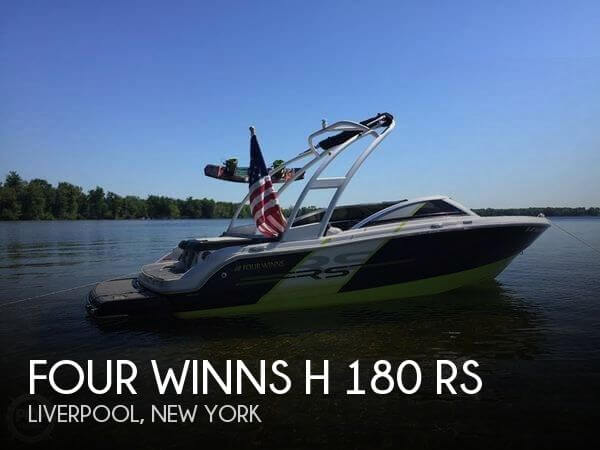 Used Ski Boats For Sale in New York by owner | 2015 Four Winns 18