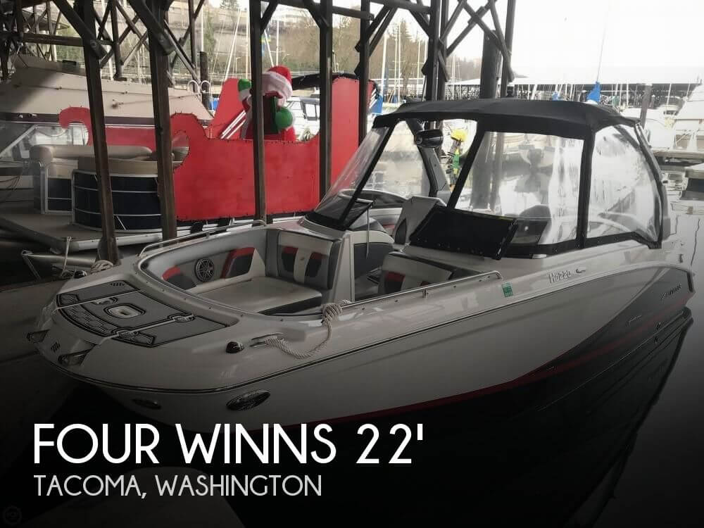 Used Deck Boats For Sale by owner | 2017 Four Winns 22