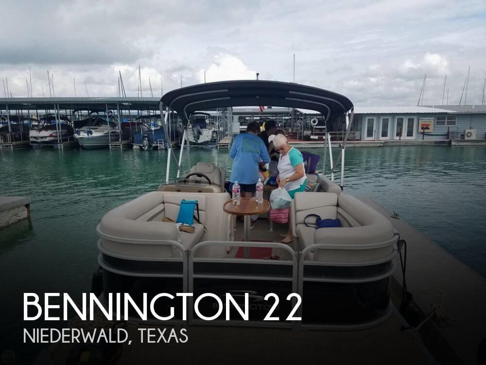 Used Bennington Pontoon Boats For Sale by owner | 2015 Bennington 22