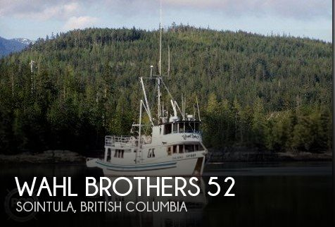 Used Boats For Sale in Canada by owner   1975 Wahl Brothers 52