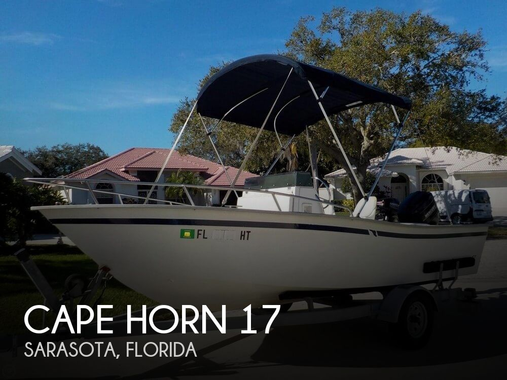 Used CAPE HORN Boats For Sale by owner | 1994 Cape Horn 17 Center Console