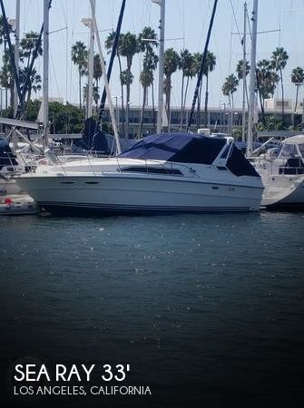Used Sea Ray Boats For Sale in Oxnard, California by owner | 1989 Sea Ray 33