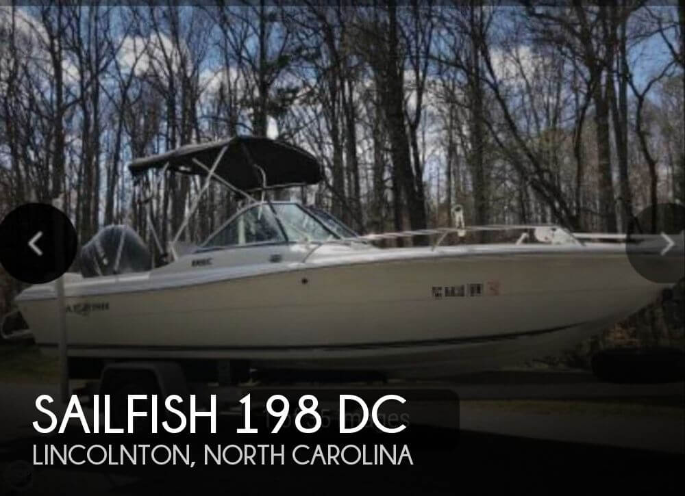Used Sailfish Boats For Sale by owner | 2006 Sailfish 198 DC