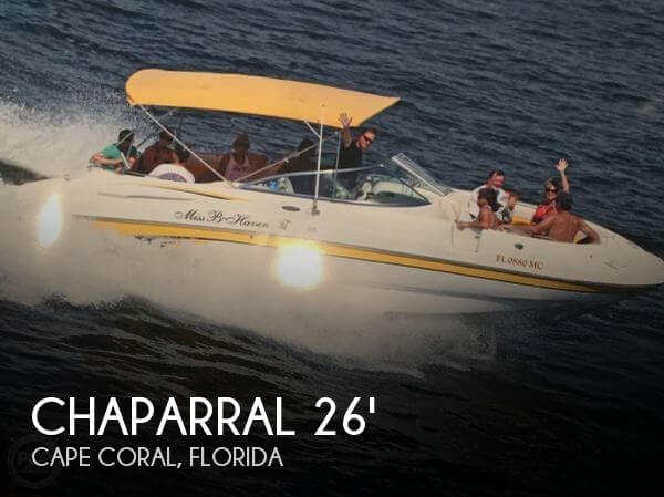Used Chaparral Deck Boats For Sale by owner | 2002 Chaparral 26