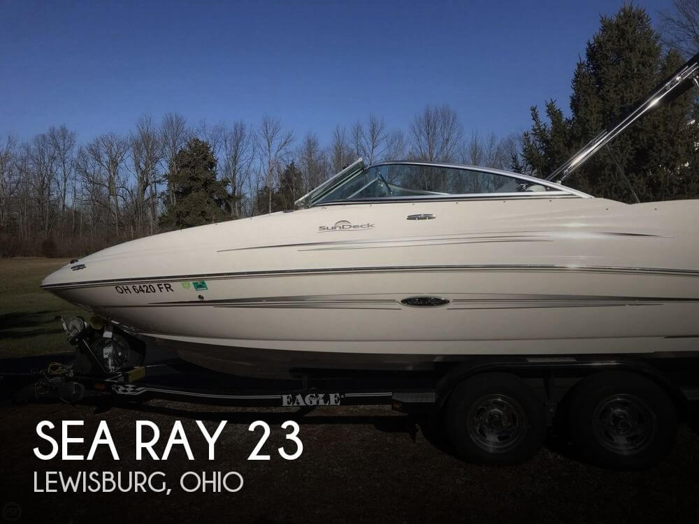 Used Sea Ray Boats For Sale in Ohio by owner | 2008 Sea Ray 23