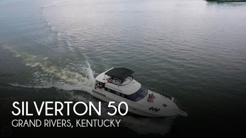 Used Boats For Sale in Kentucky by owner | 1989 Silverton 50