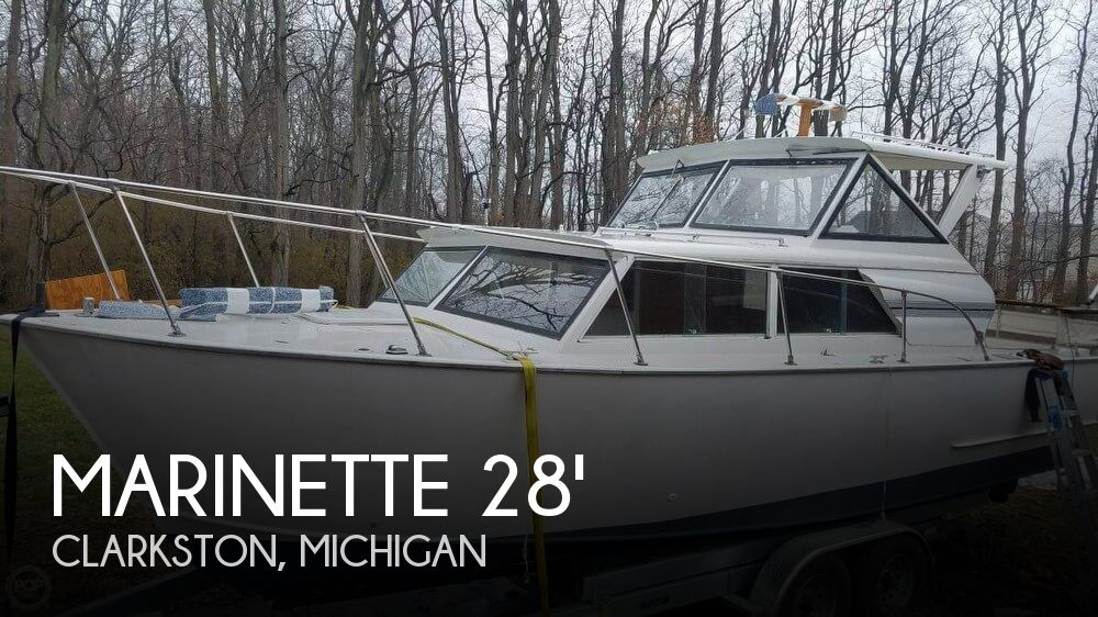 Used Marinette Boats For Sale by owner | 1975 Marinette 30
