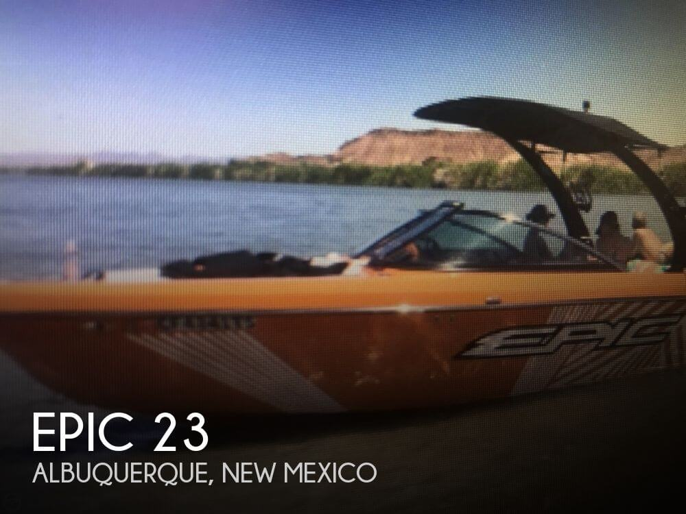 Used Boats For Sale in New Mexico by owner | 2015 Epic 23