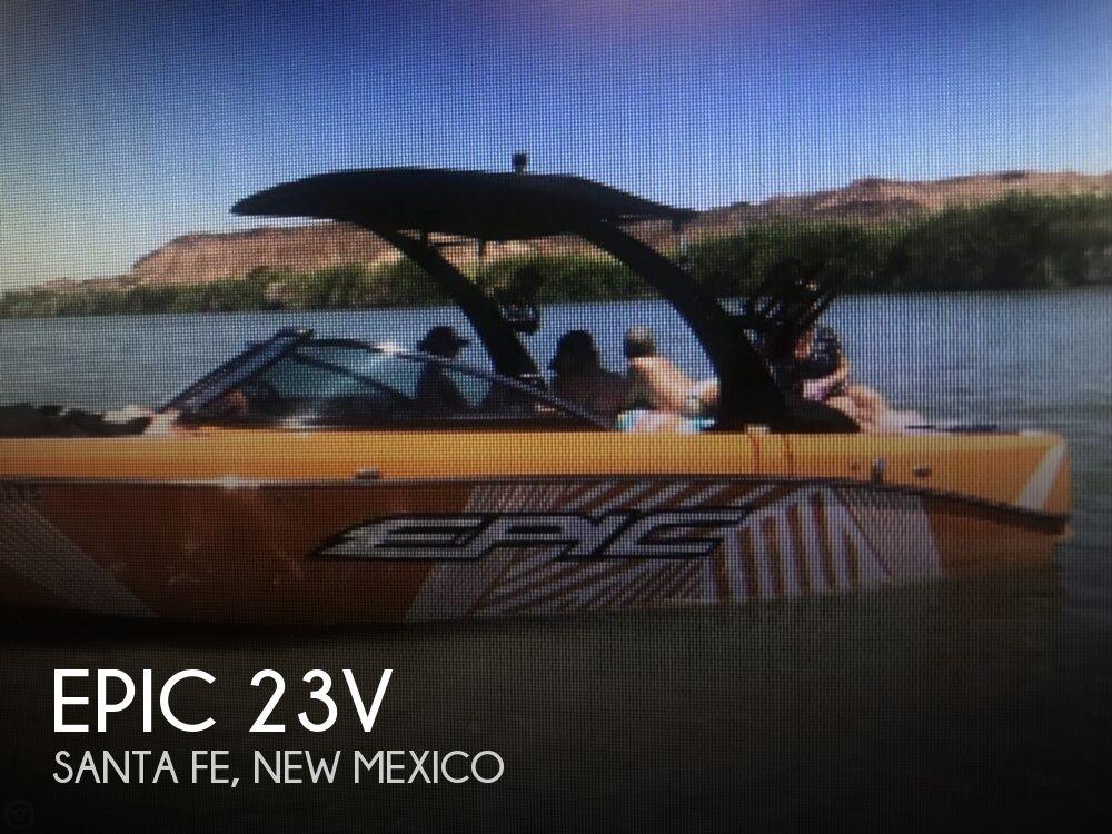 2015 Epic boat for sale, model of the boat is 23V & Image # 1 of 6