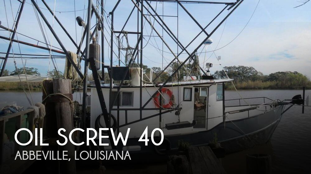 Used Boats For Sale in Lafayette, Louisiana by owner | 1967 Oil Screw 40