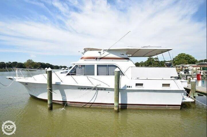 1984 Uniflite boat for sale, model of the boat is 42 & Image # 2 of 27